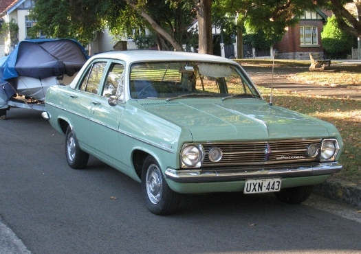 1967 Holden HR #4