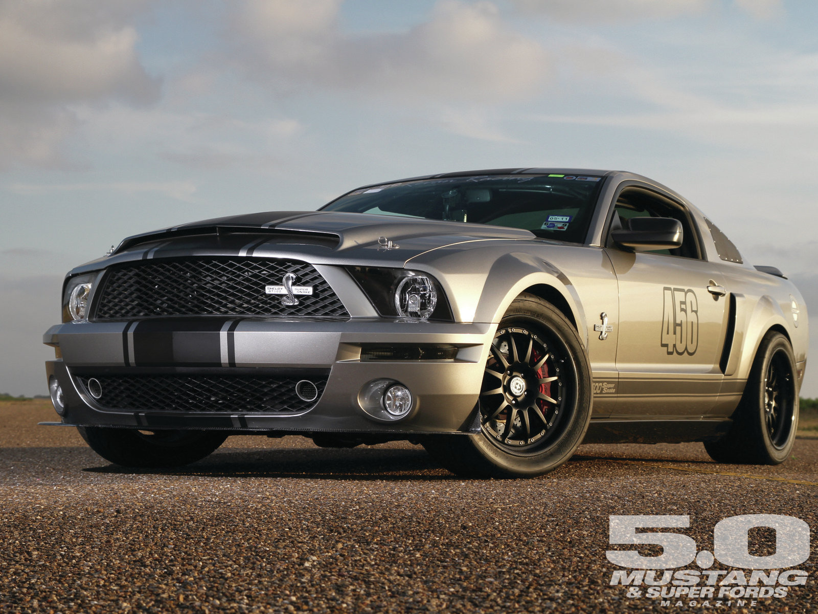 2008 Ford Shelby Gt500 #3