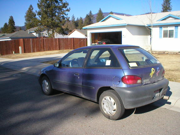 1999 Suzuki Swift #6