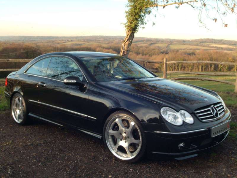 2004 Mercedes-Benz CLK #1