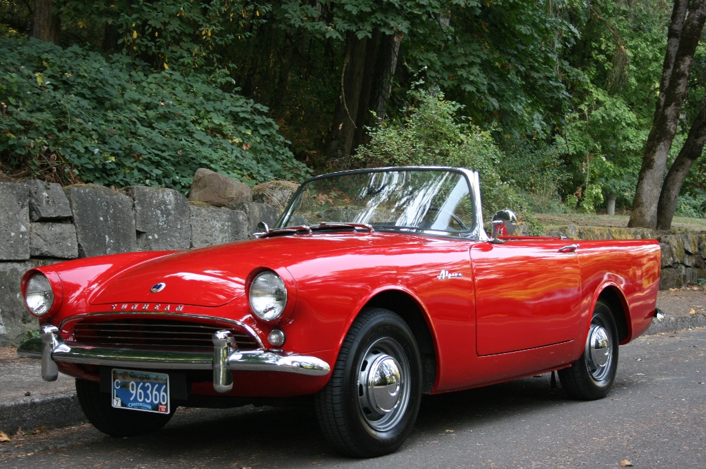 1962 Sunbeam Alpine #1