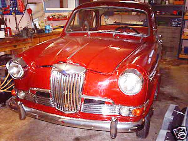 1958 Riley One-Point-Five #6