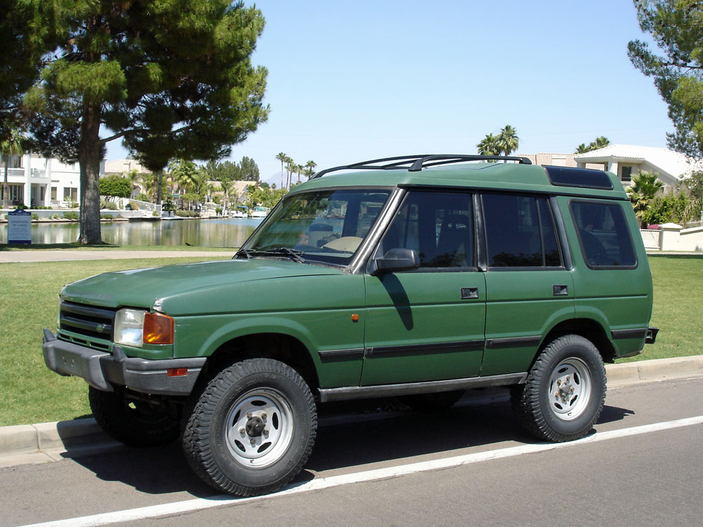 1995 Land Rover Discovery #16