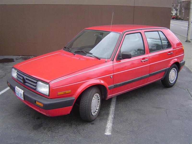 1991 Volkswagen Golf #4