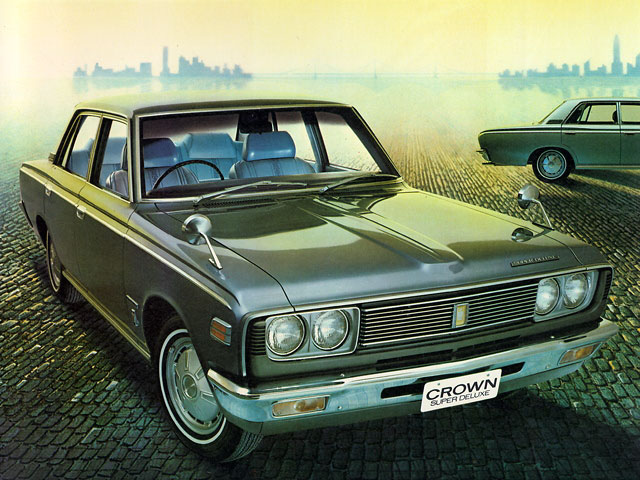 1970 Toyota Crown #9