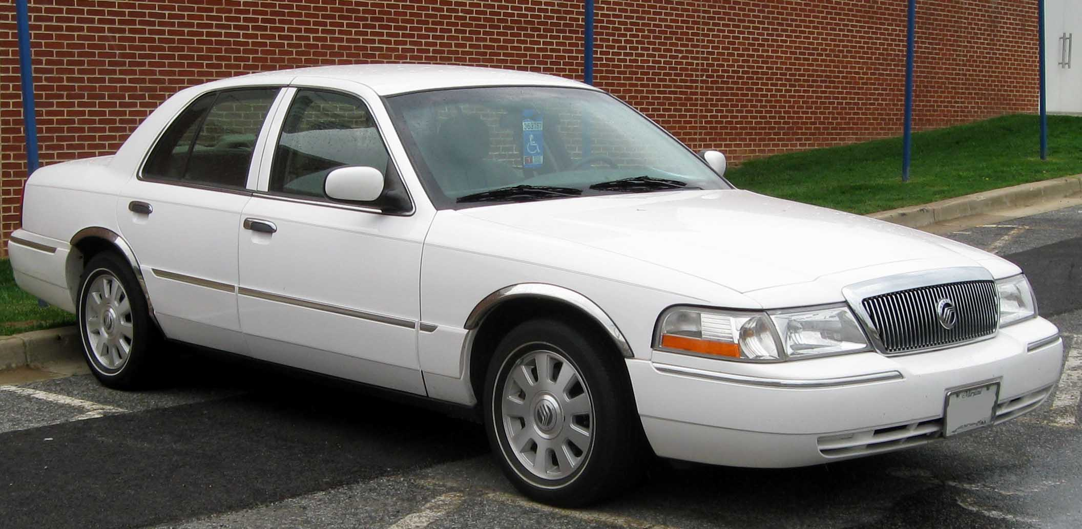 2007 Mercury Grand Marquis #8