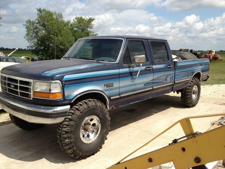 1993 Ford F-350 #8