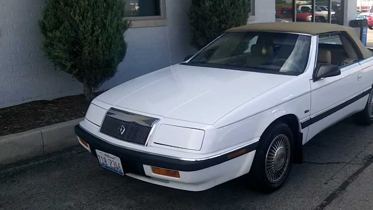 1992 Chrysler Le Baron #2