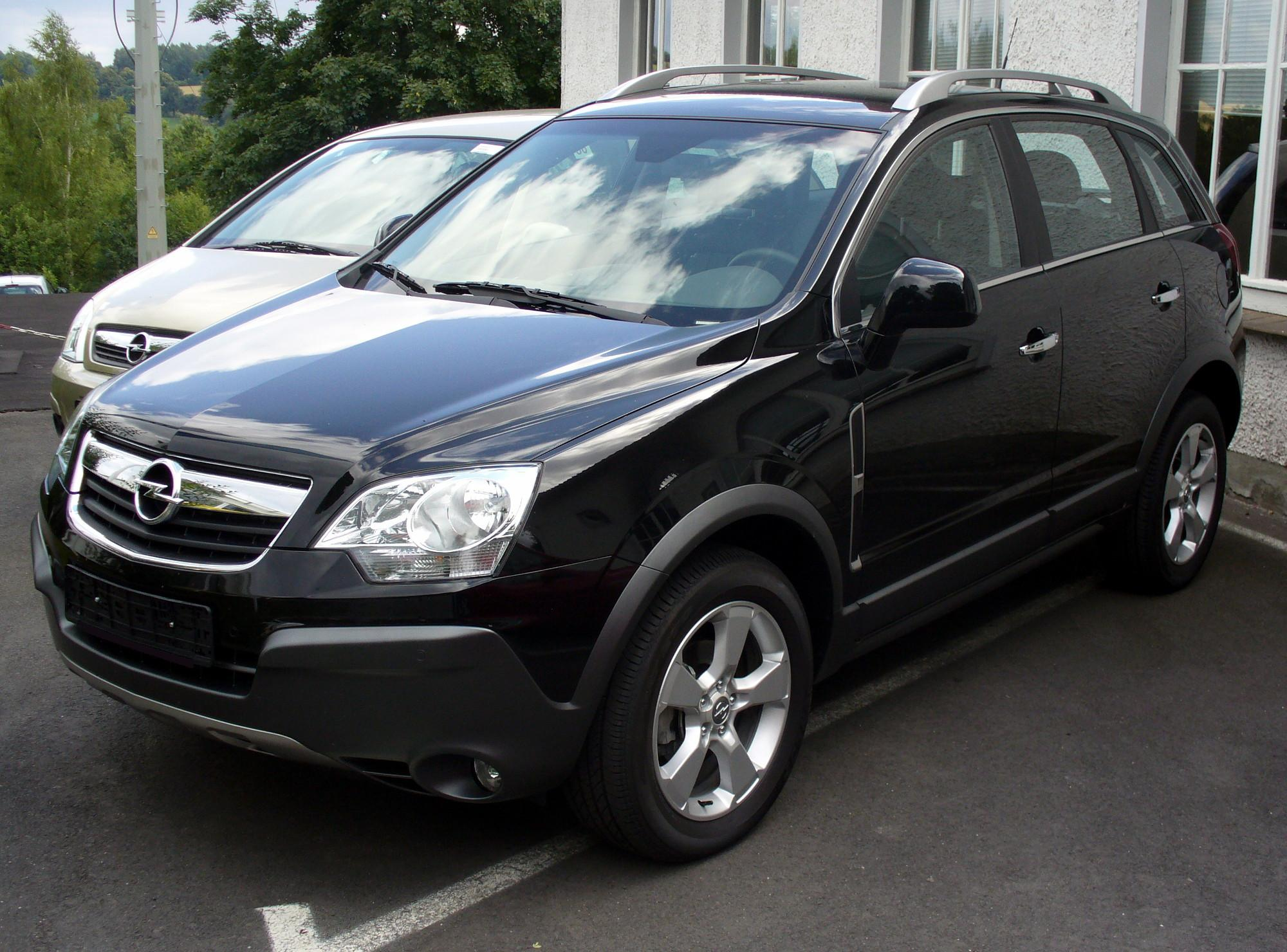 2008 opel antara photos informations articles. Black Bedroom Furniture Sets. Home Design Ideas