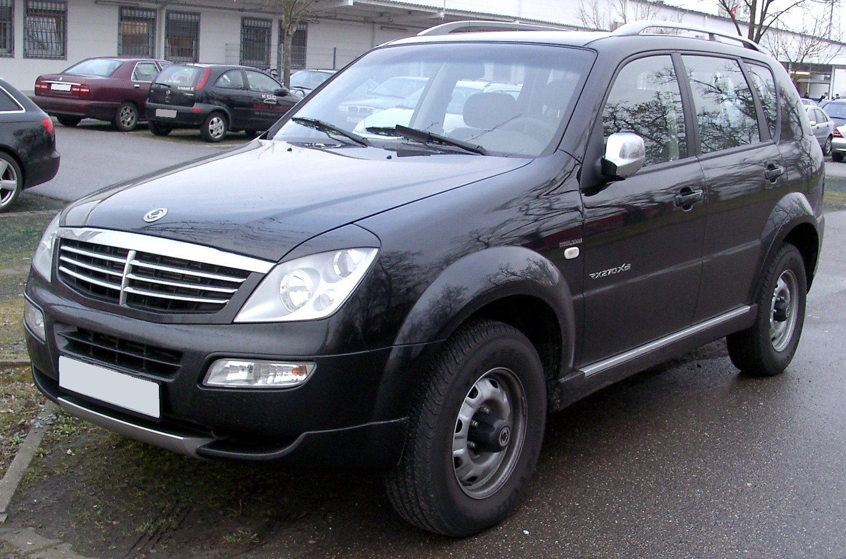 2006 Ssangyong Musso #13