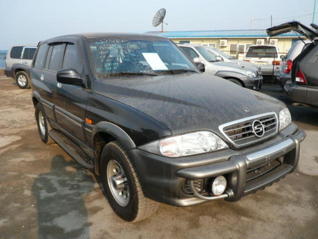 2002 Ssangyong Musso #10