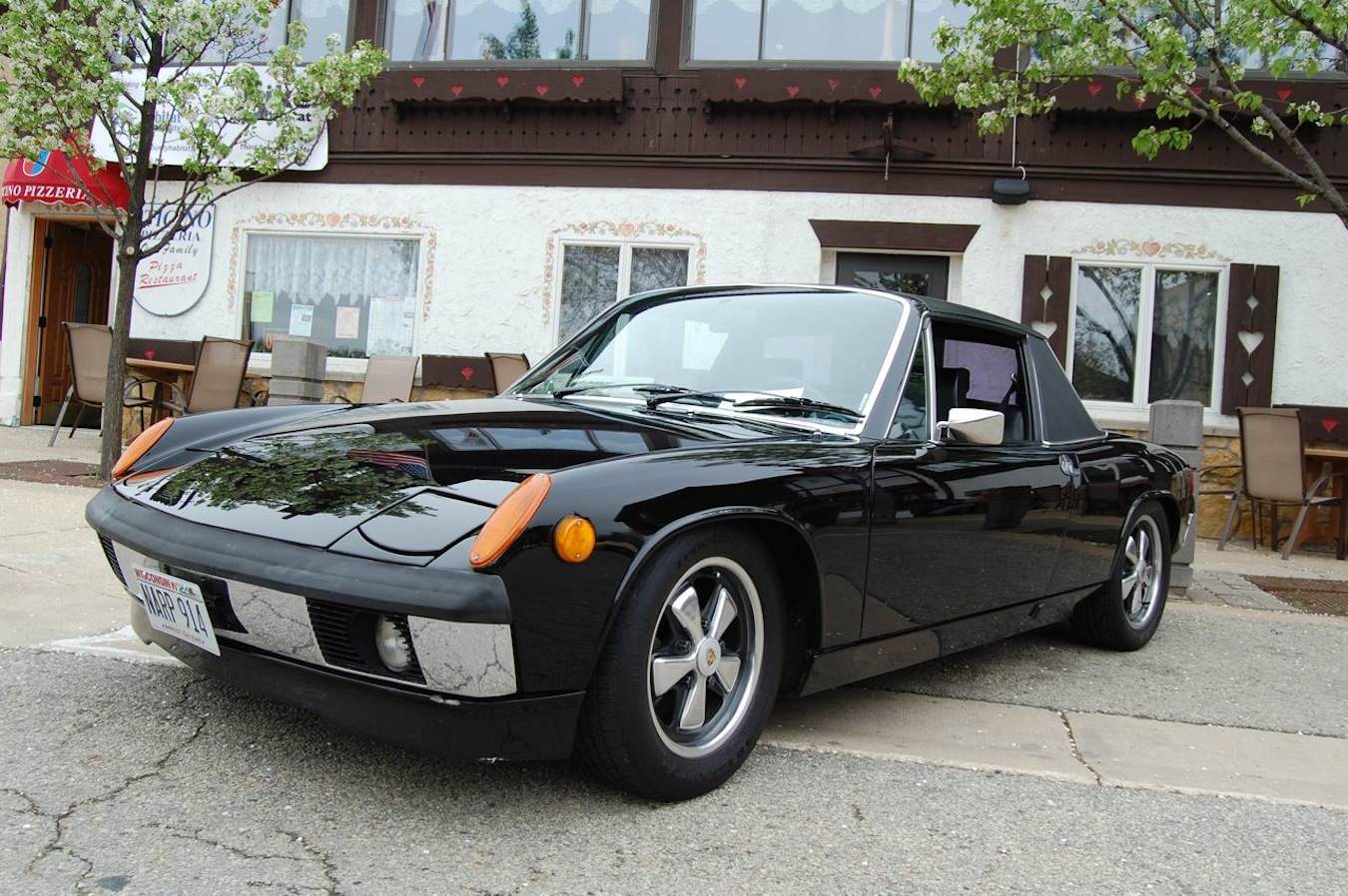 1971 porsche 914 photos informations articles. Black Bedroom Furniture Sets. Home Design Ideas