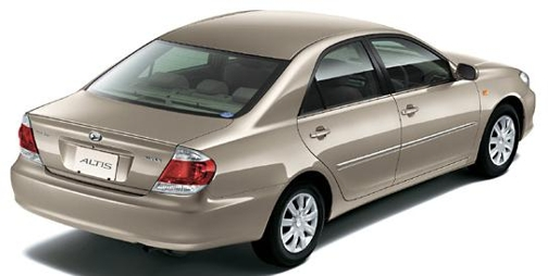 Daihatsu Altis Photos, Informations, Articles