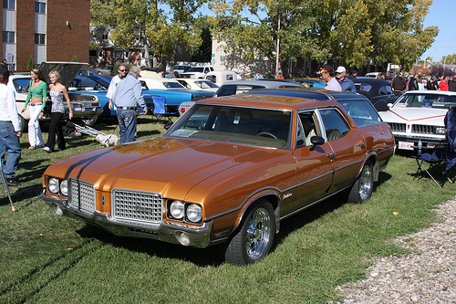 1972 Oldsmobile Vista Cruiser #6