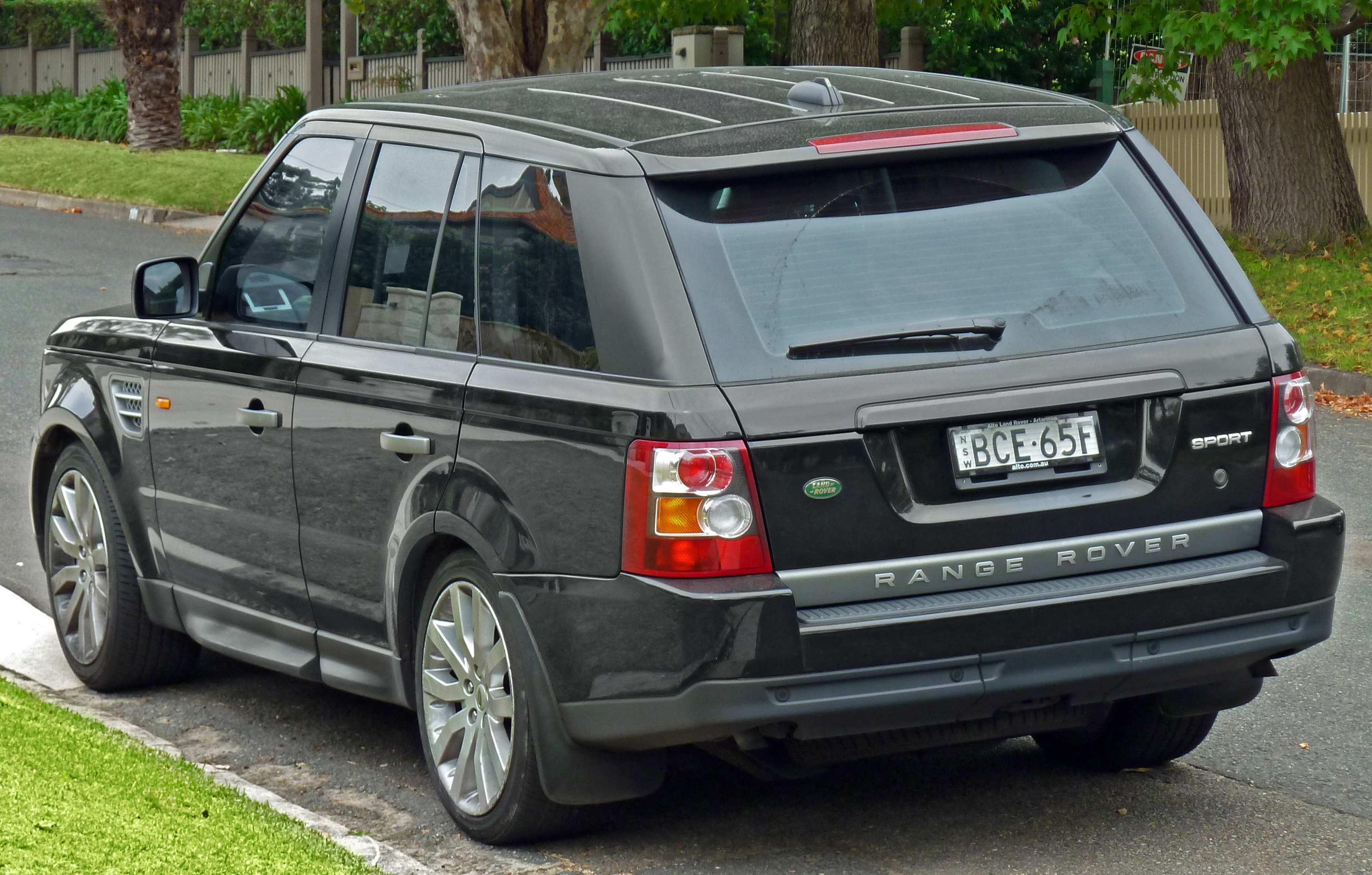 2008 Land Rover Range Rover Sport s Informations Articles