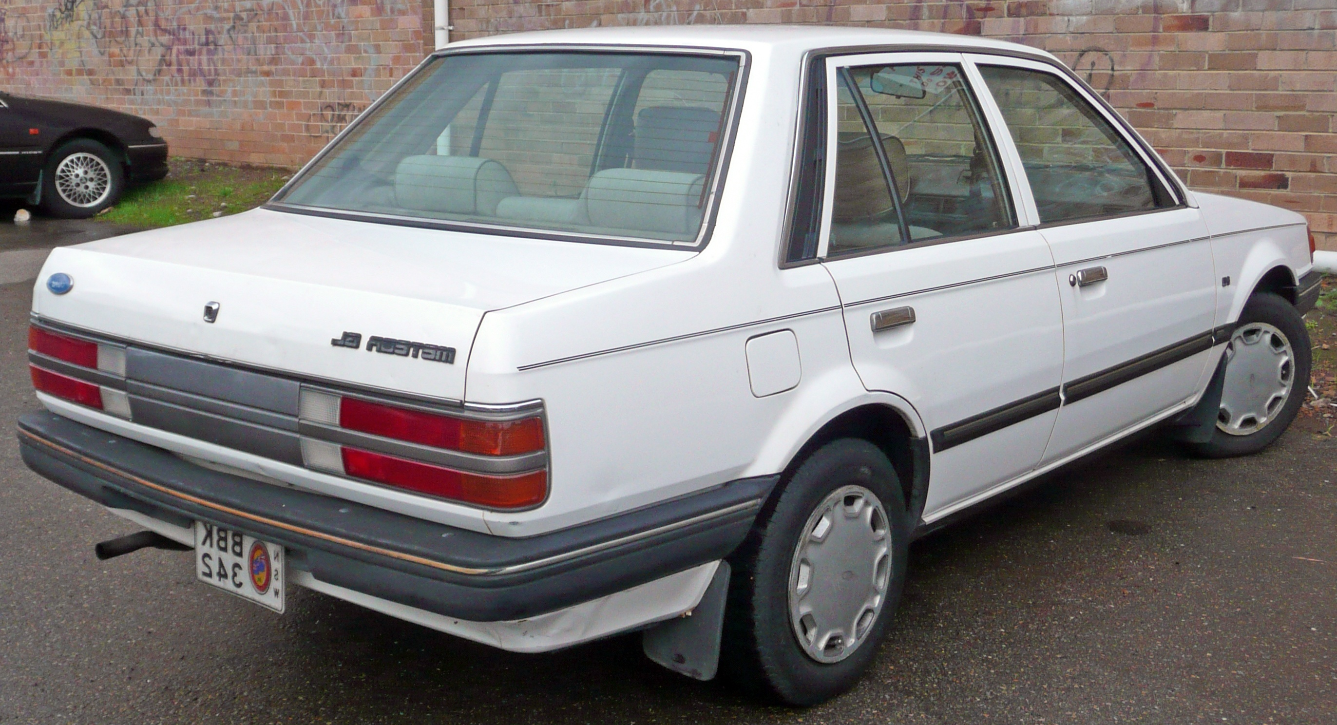1986 Ford Meteor #7