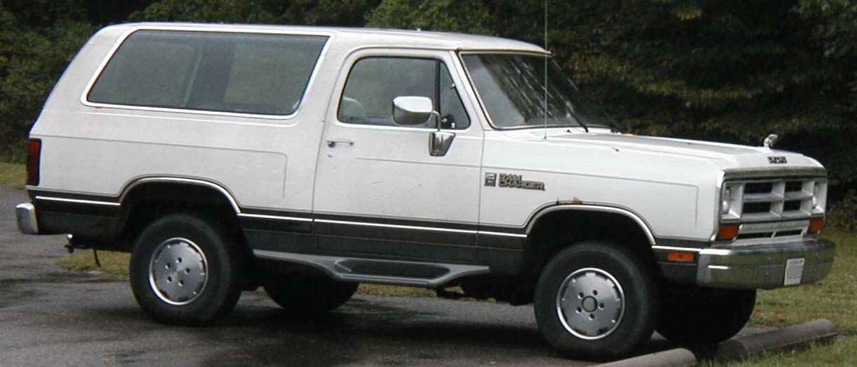 1991 Dodge Ramcharger #12