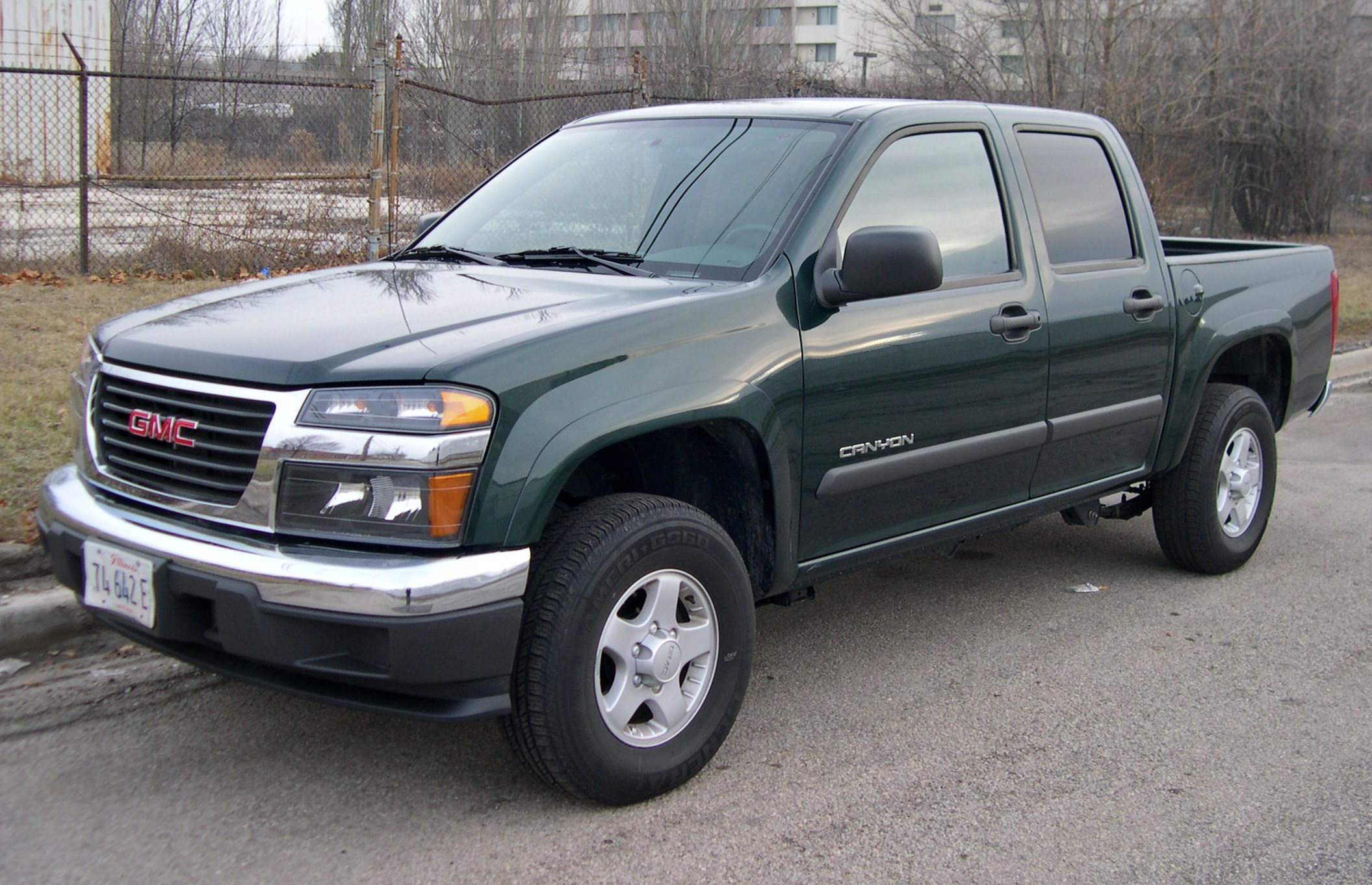 2007 GMC Canyon #8