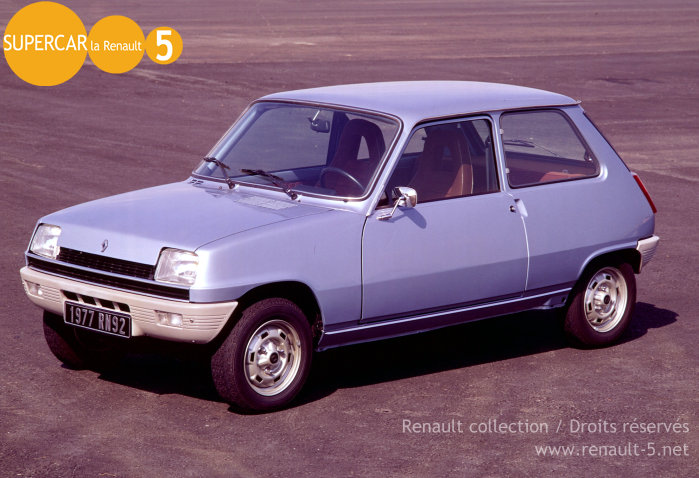 1976 renault 5 photos informations articles. Black Bedroom Furniture Sets. Home Design Ideas