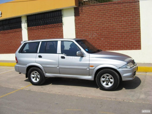 1998 Ssangyong Musso #12