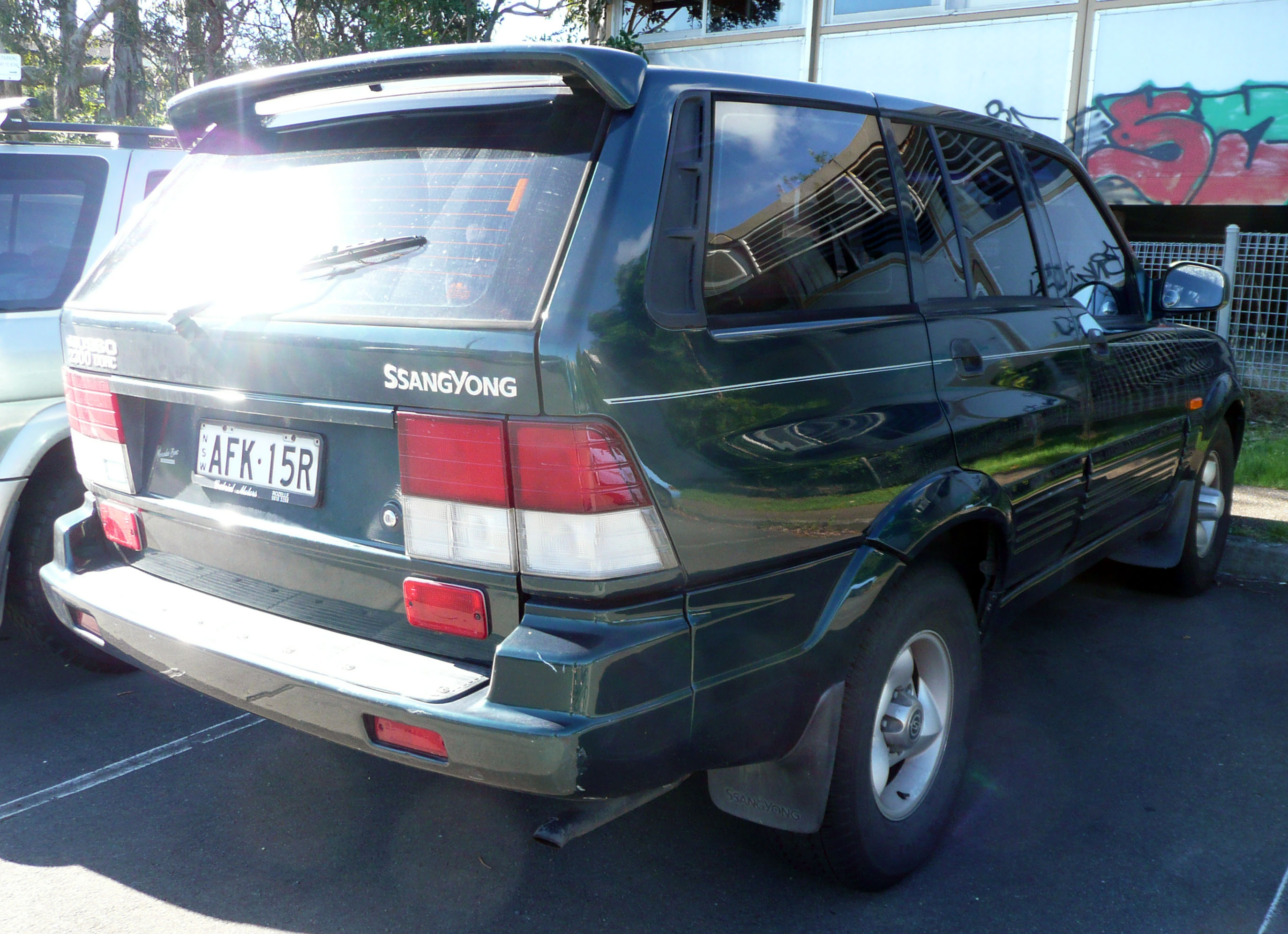 1997 Ssangyong Musso #1