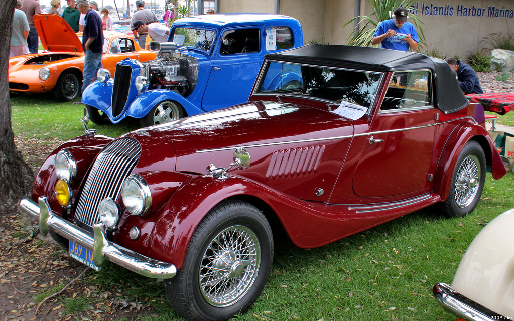1956 Morgan Plus 4 #14