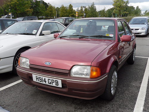 1990 Ford Orion #9