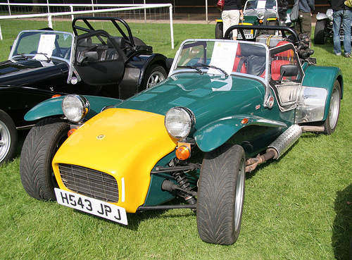 1991 Caterham Super 7 #9