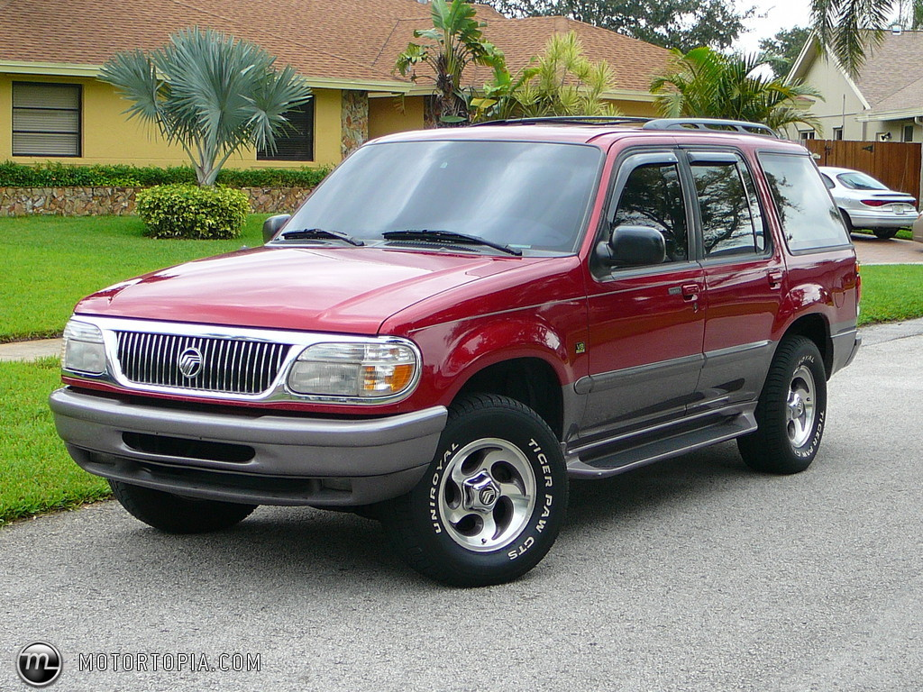1997 Mercury Mountaineer #8
