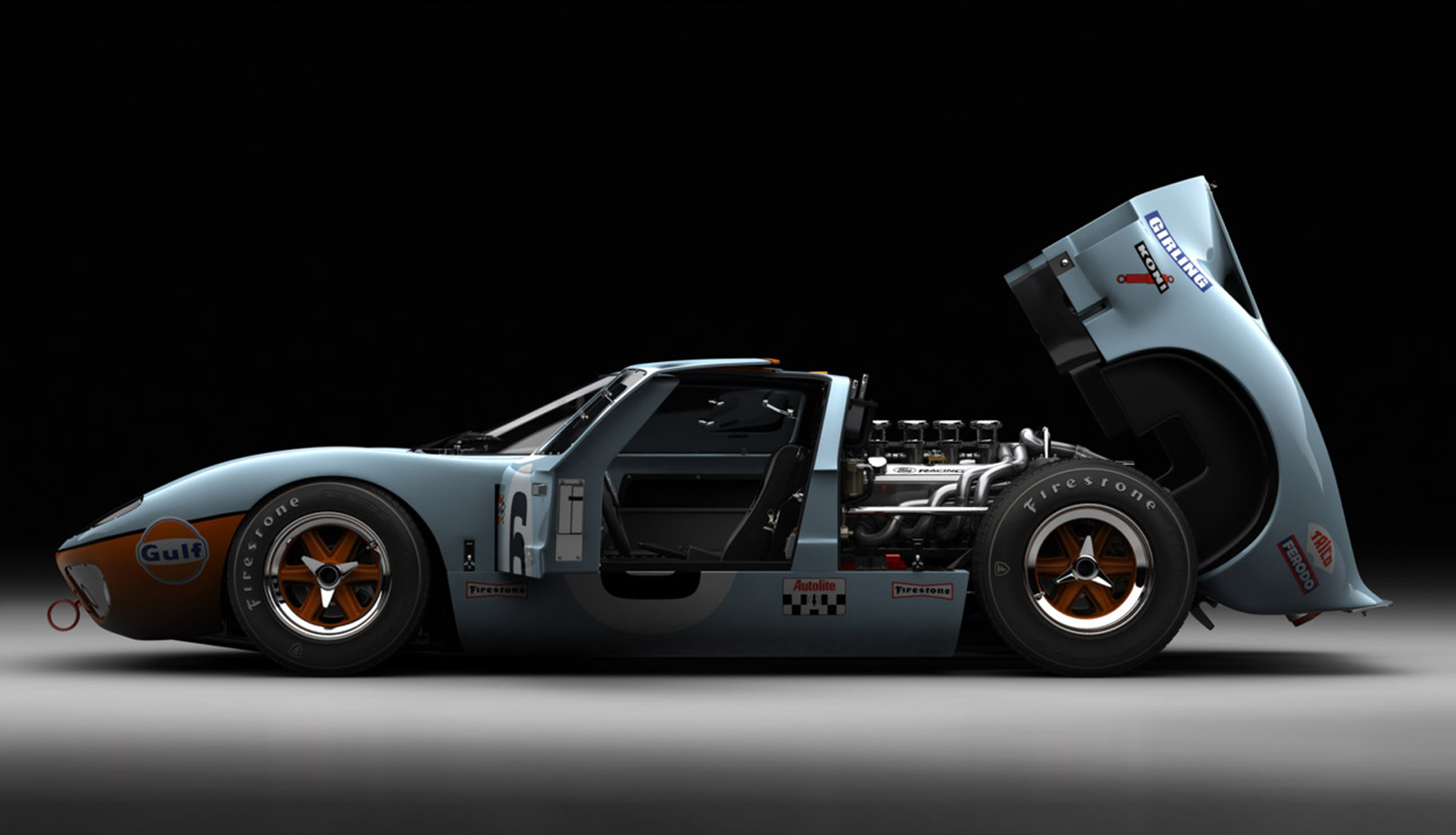 Ford GT 40 #8