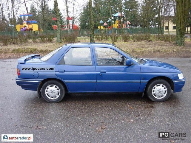 1993 Ford Orion #8
