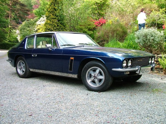 Jensen Interceptor #8