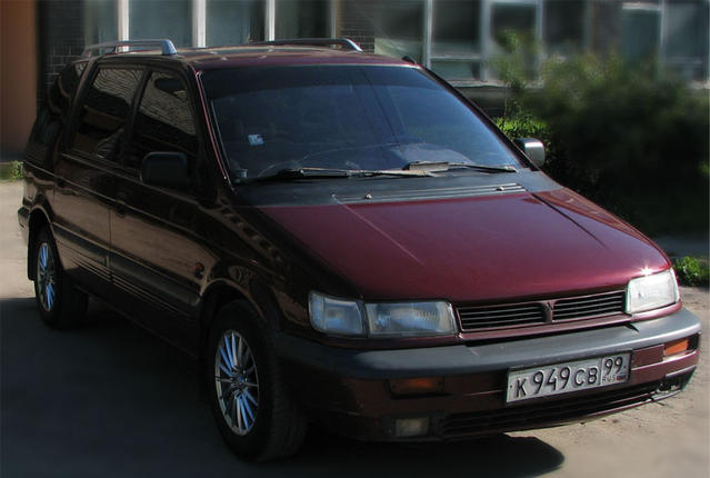 1993 Mitsubishi Space Wagon #5