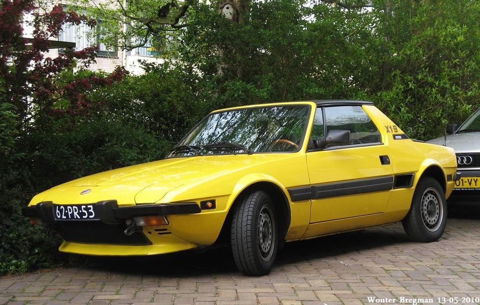 1977 fiat x1 9 photos informations articles. Black Bedroom Furniture Sets. Home Design Ideas