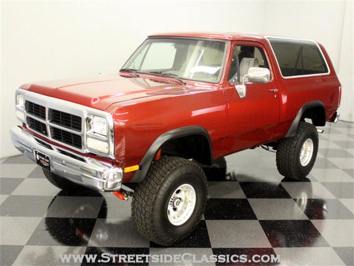 1991 Dodge Ramcharger #4