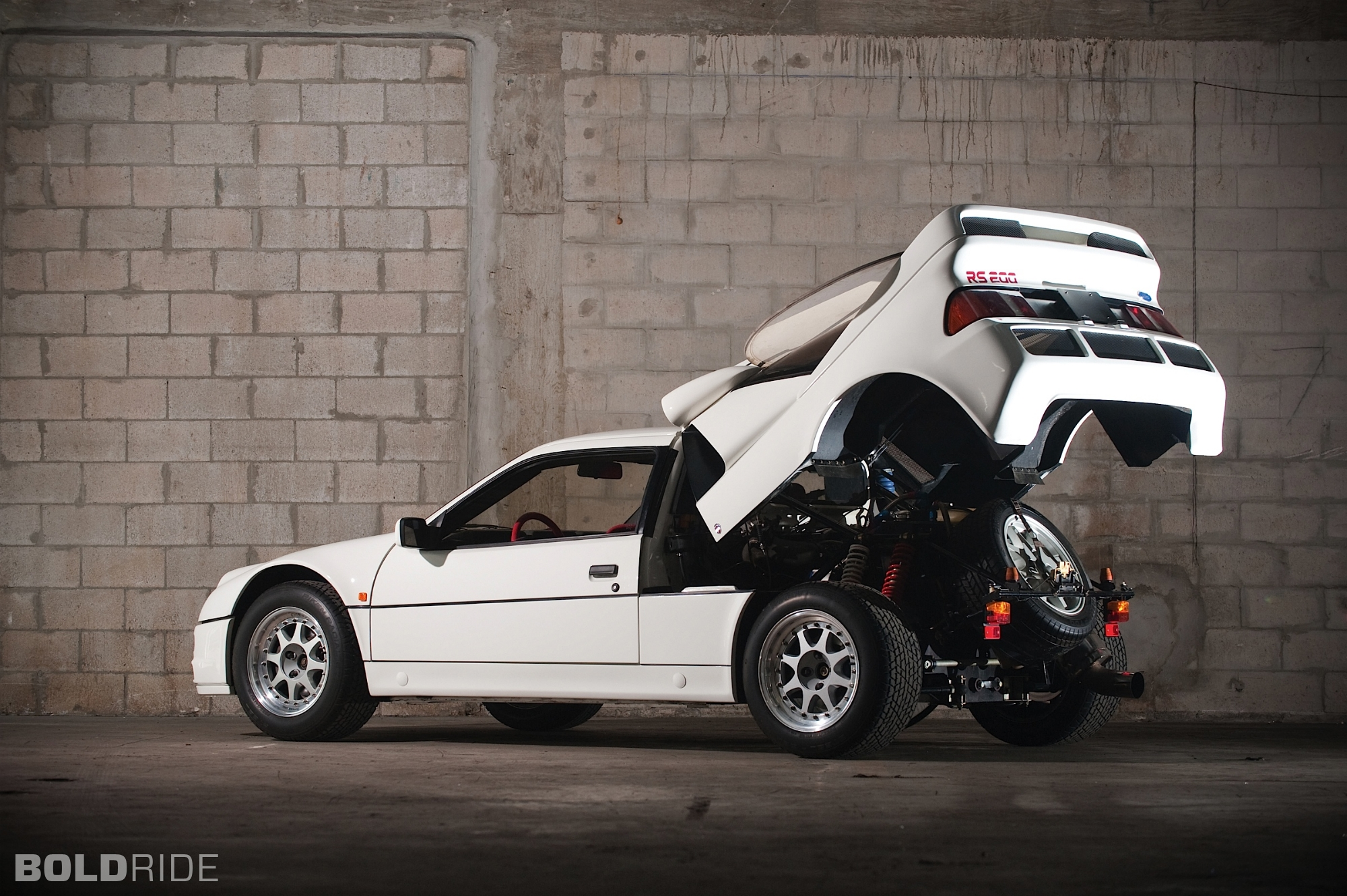 Ford RS 200 #6