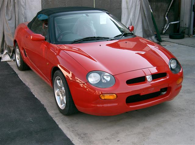 1995 Rover MGF #8