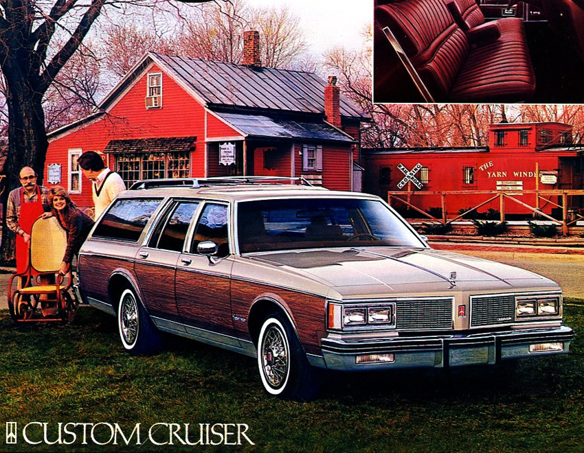 1990 Oldsmobile Custom Cruiser #12