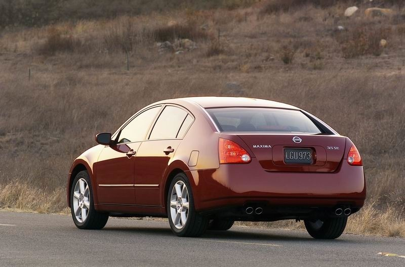 2004 Nissan Maxima Photos Informations Articles Bestcarmag
