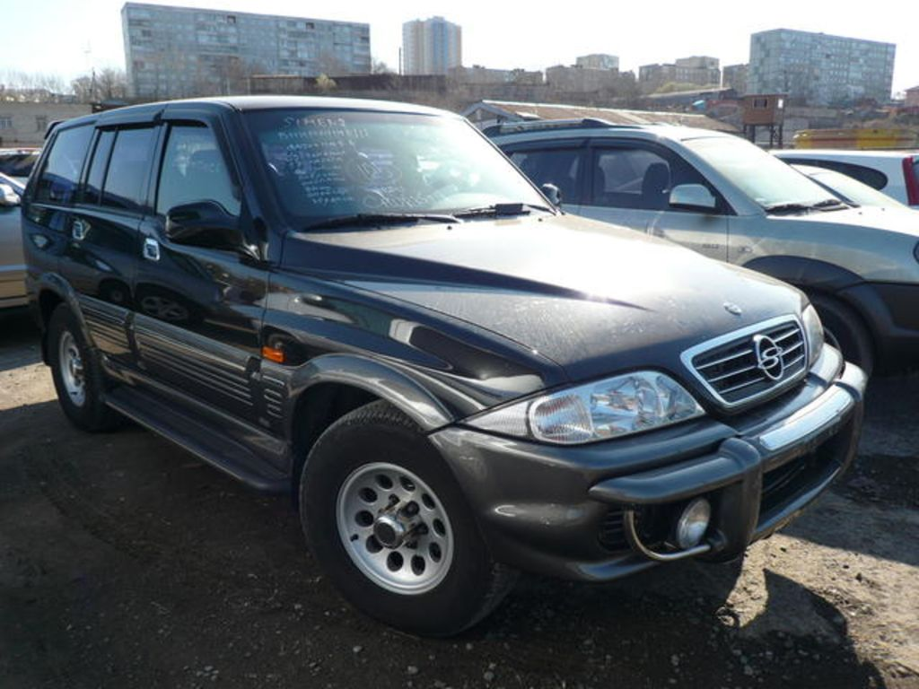 2002 Ssangyong Musso #8