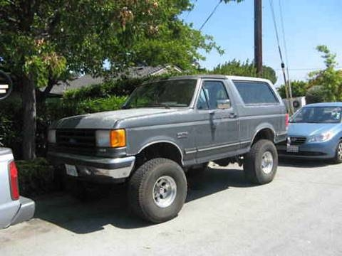1990 Ford Bronco #6