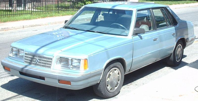 1986 Plymouth Caravelle #4