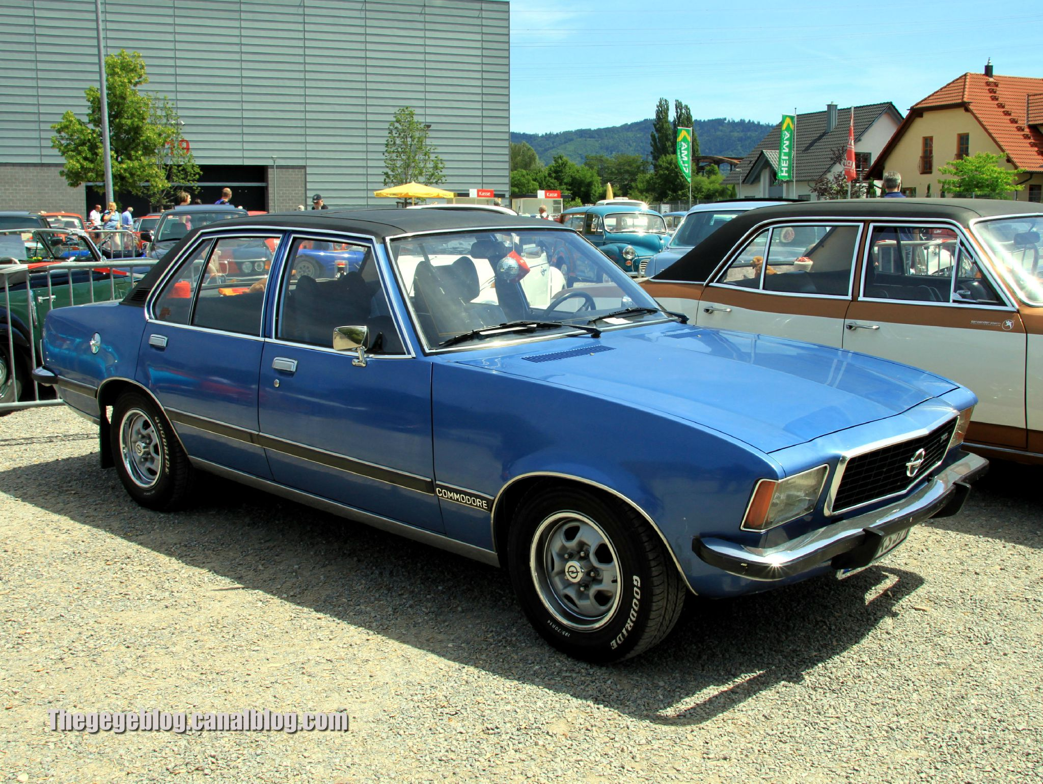 1972 Opel Commodore #6