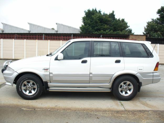 1996 Ssangyong Musso #14