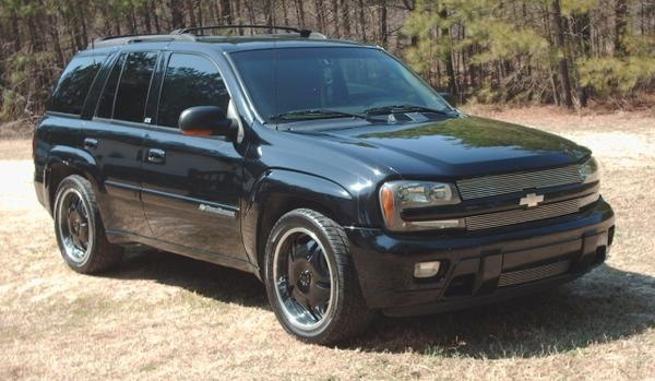 2002 Chevrolet Trailblazer #11