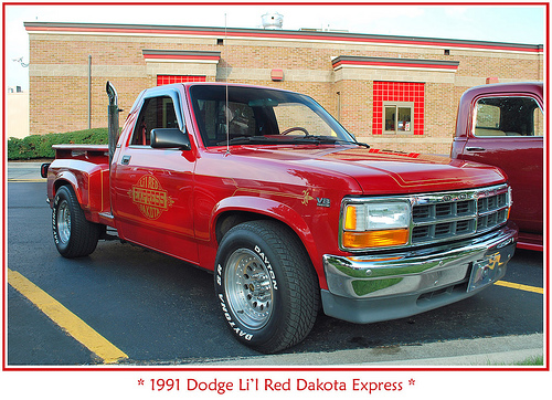 1991 Dodge Dakota #6