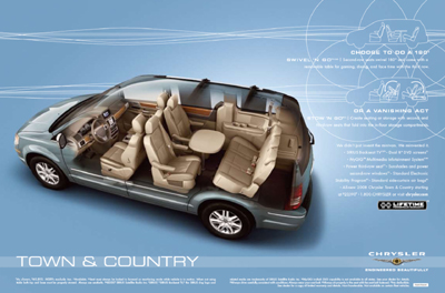 2008 Chrysler Town And Country #12