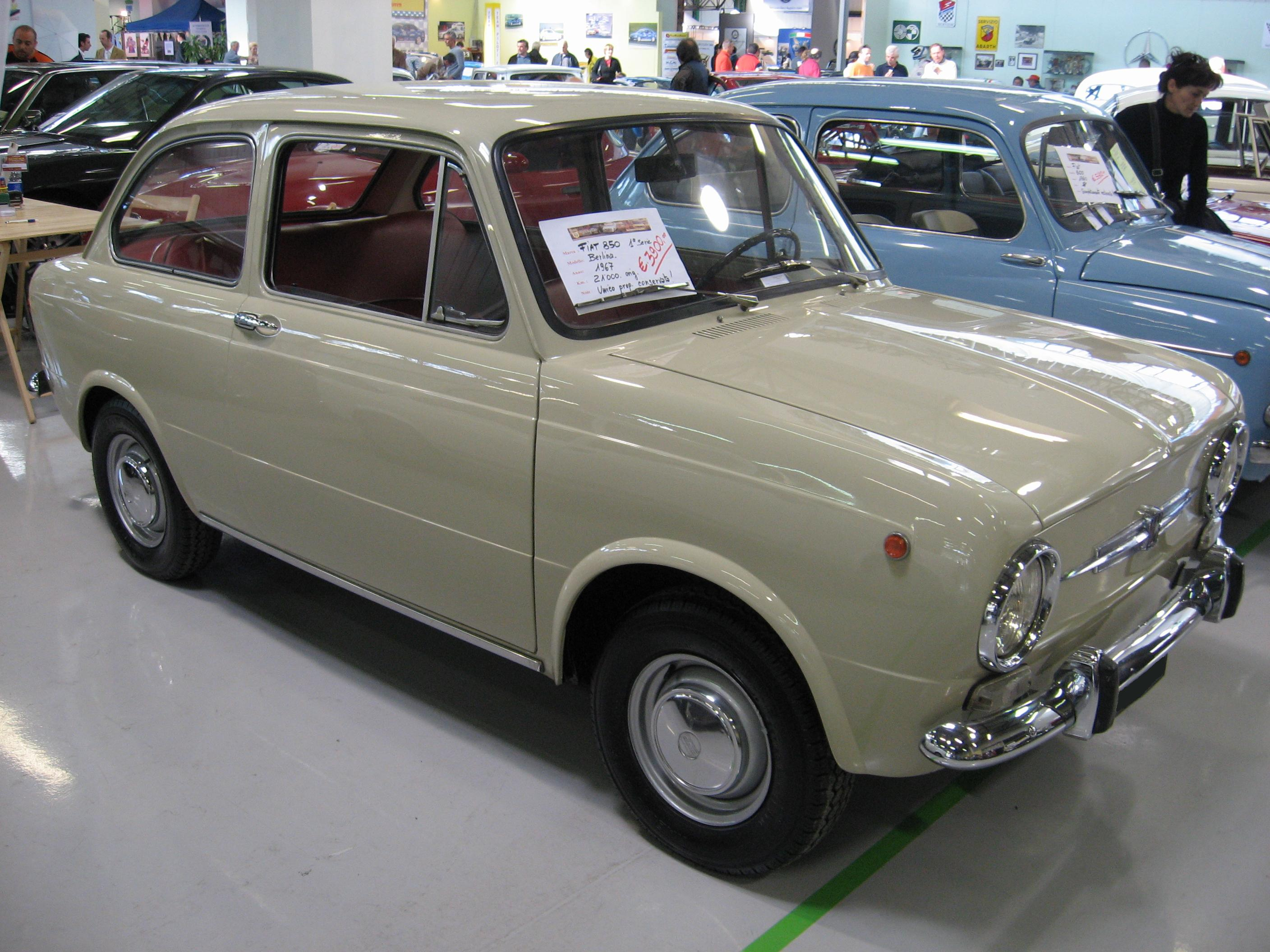 Fiat 850 Photos, Informations, Articles - BestCarMag.com