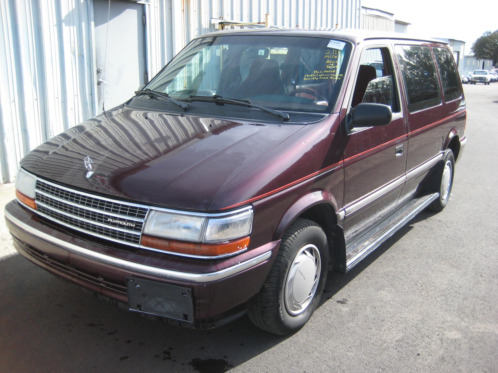 1993 Plymouth Voyager #7