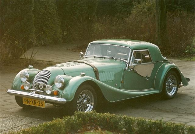 1996 Morgan Plus 4 #10